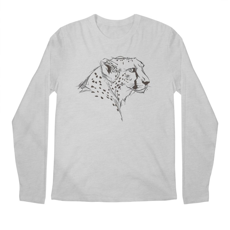 The Cheetah Men's Longsleeve T-Shirt by KUI1981