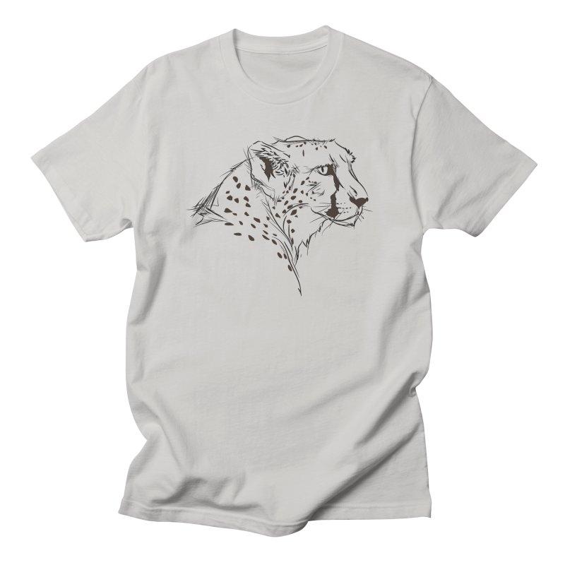 The Cheetah Men's T-Shirt by KUI1981