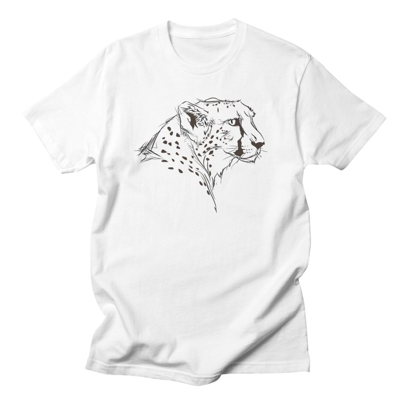 The Cheetah Men's T-shirt by KUI1981