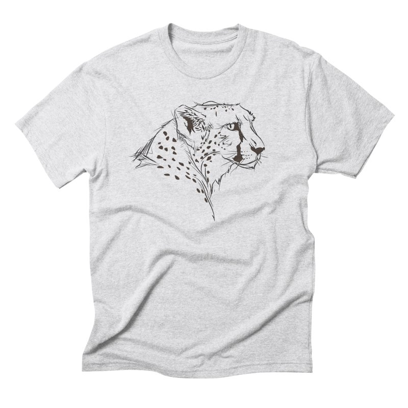 The Cheetah Men's Triblend T-shirt by KUI1981