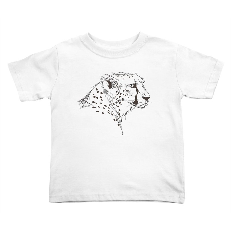 The Cheetah Kids Toddler T-Shirt by KUI1981