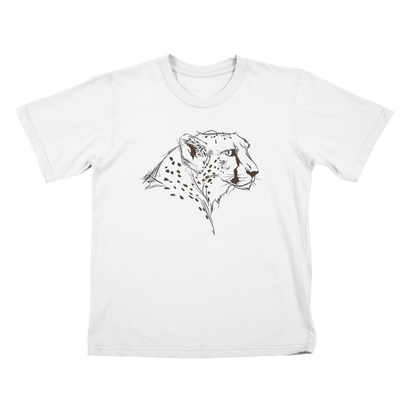 The Cheetah Kids T-shirt by KUI1981
