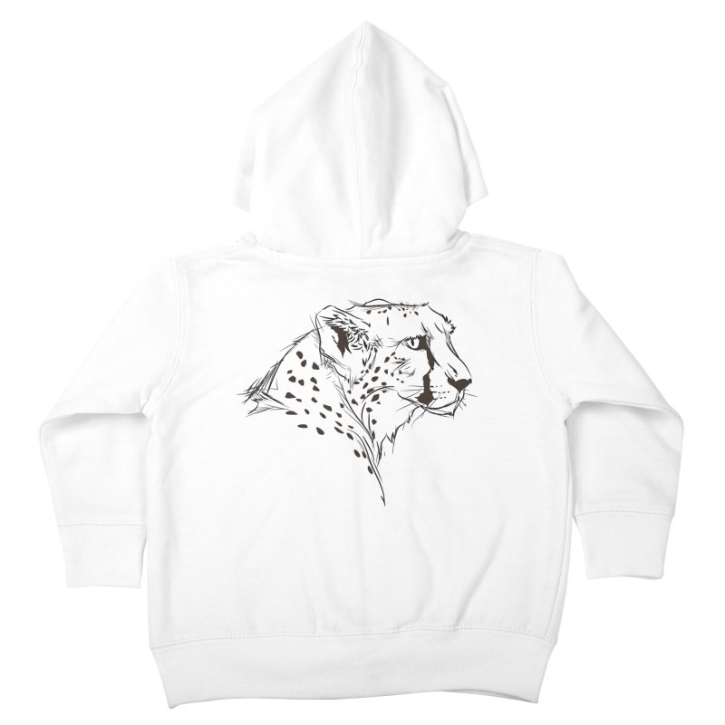 The Cheetah Kids Toddler Zip-Up Hoody by KUI1981