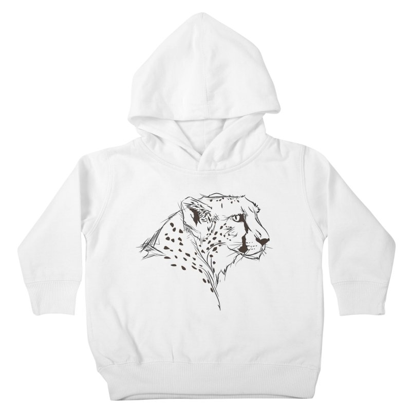 The Cheetah Kids Toddler Pullover Hoody by KUI1981