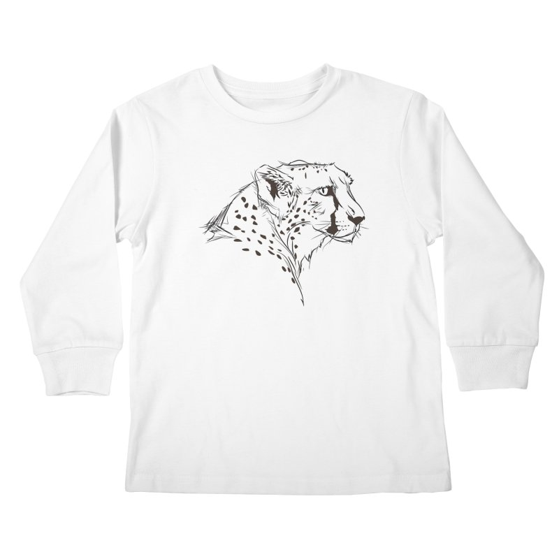 The Cheetah Kids Longsleeve T-Shirt by KUI1981