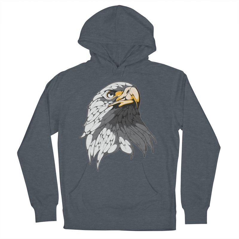 Eagle Men's Pullover Hoody by KUI1981
