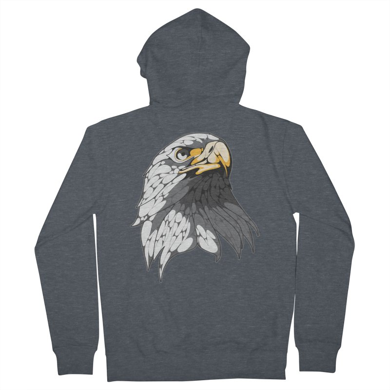 Eagle Women's Zip-Up Hoody by KUI1981