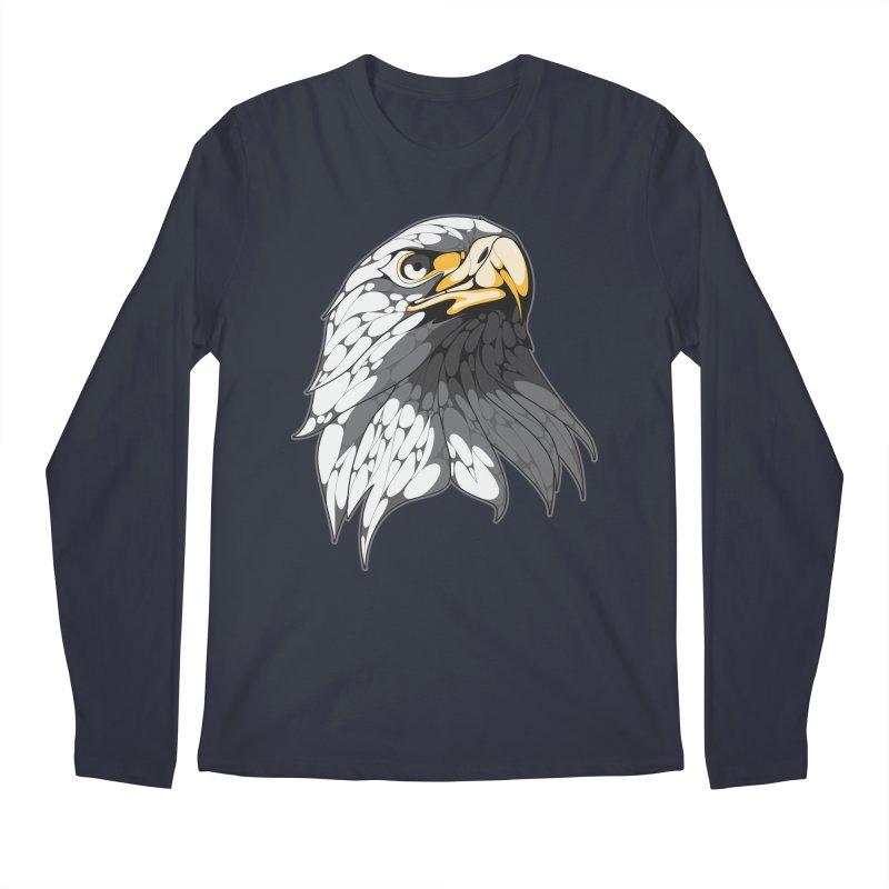 Eagle Men's Longsleeve T-Shirt by KUI1981