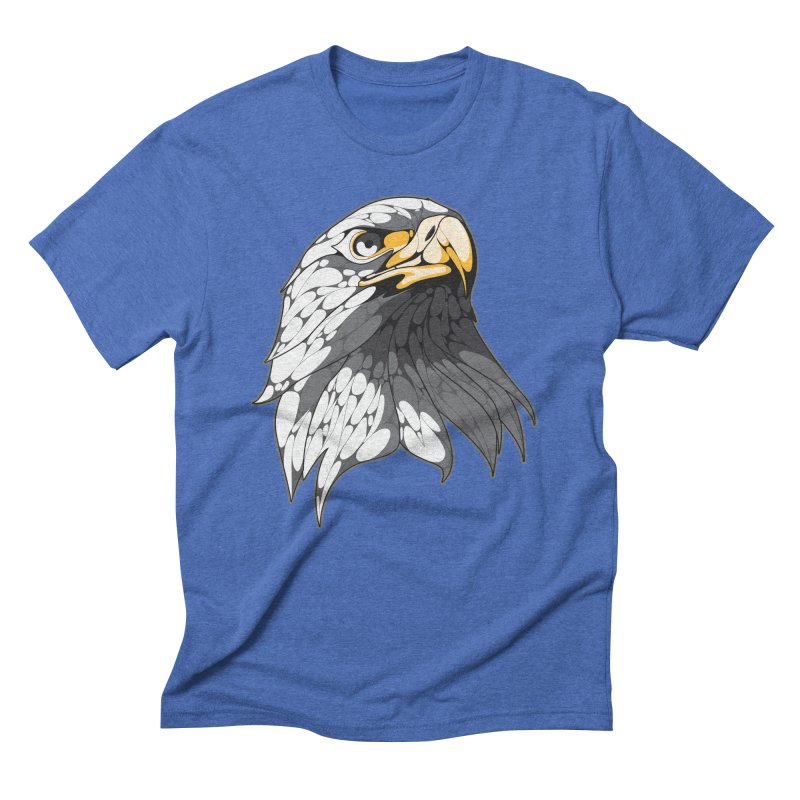 Eagle Men's Triblend T-shirt by KUI1981