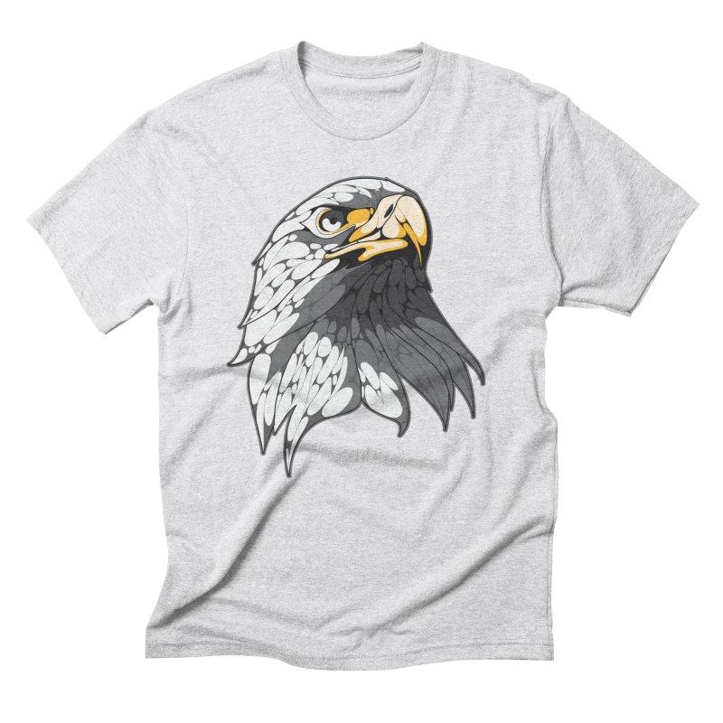 Eagle Men's Triblend T-Shirt by KUI1981