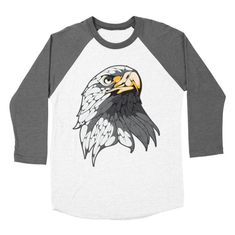 Eagle Women's Baseball Triblend T-Shirt by KUI1981