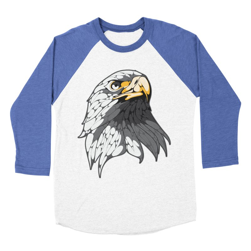 Eagle Men's Baseball Triblend T-Shirt by KUI1981