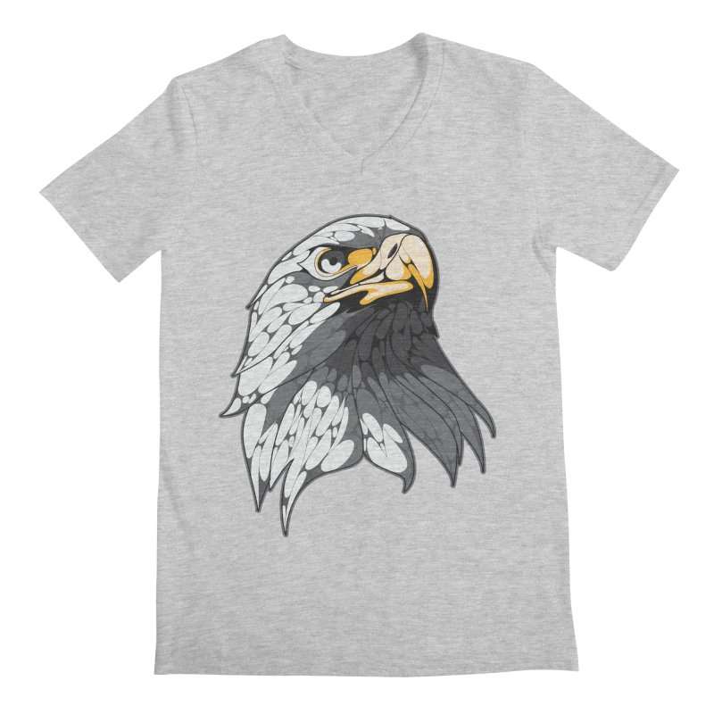 Eagle Men's V-Neck by KUI1981