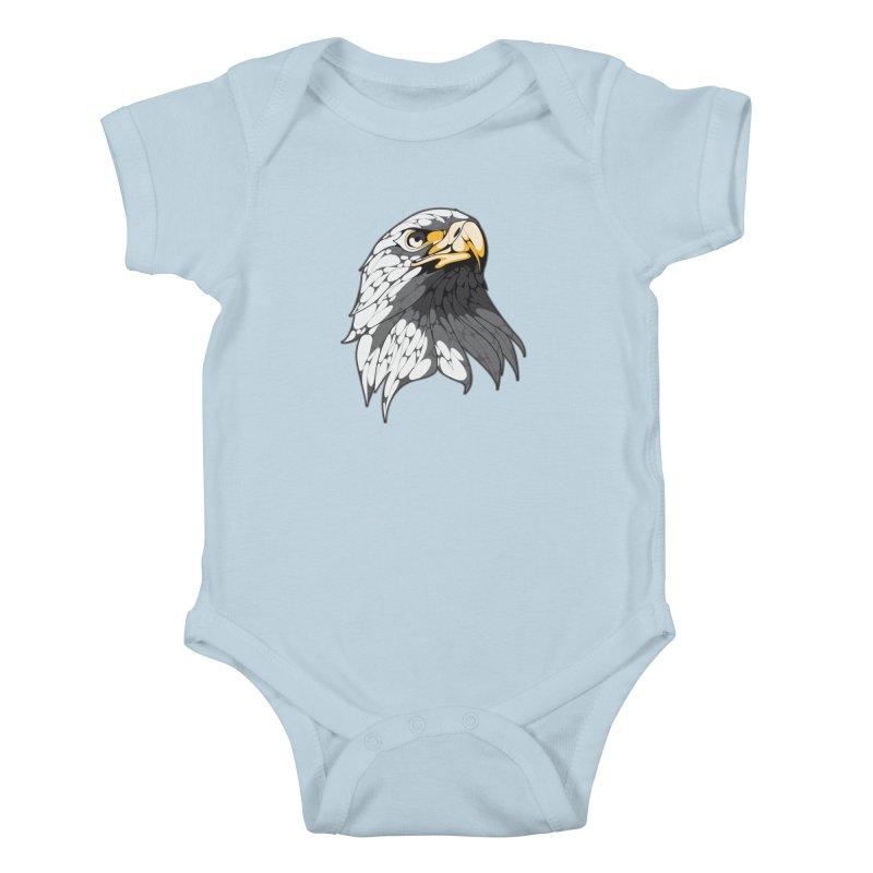 Eagle Kids Baby Bodysuit by KUI1981