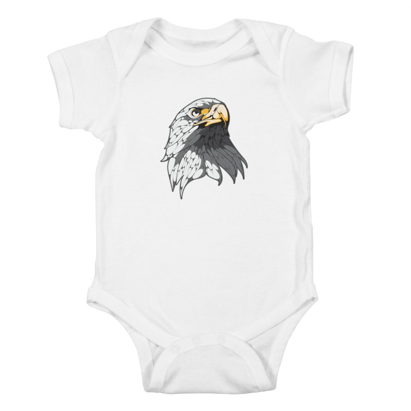 Eagle Kids Baby Bodysuit by KUI1981