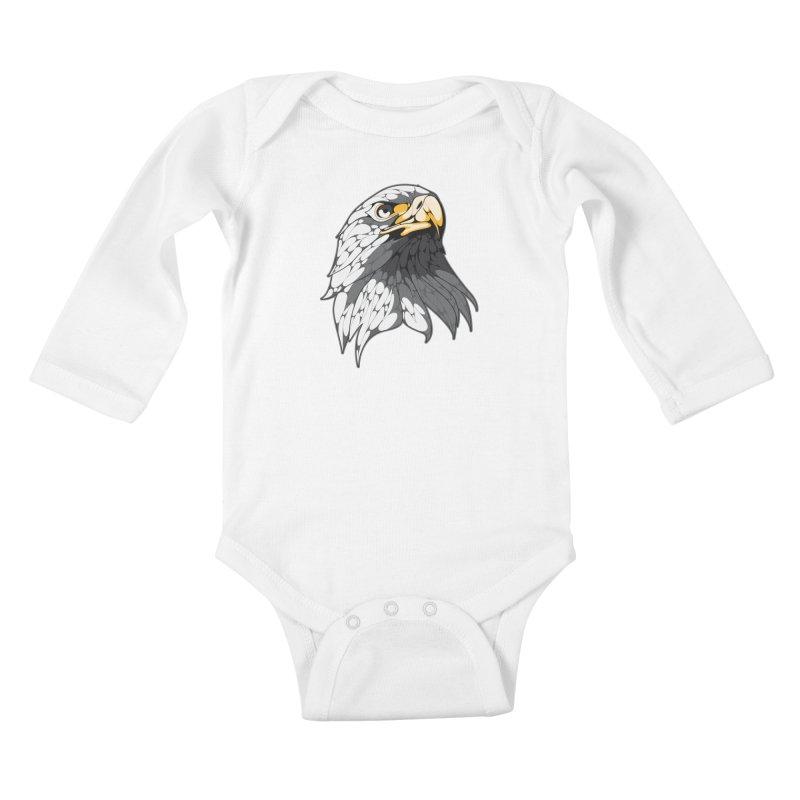 Eagle Kids Baby Longsleeve Bodysuit by KUI1981