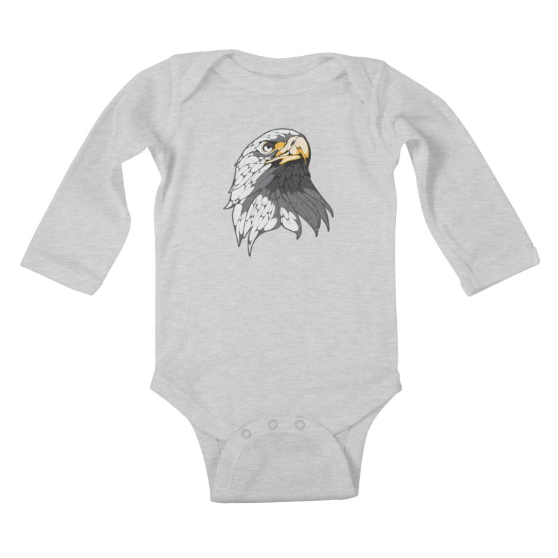 Eagle Kids Baby Longsleeve Bodysuit by KUI1981