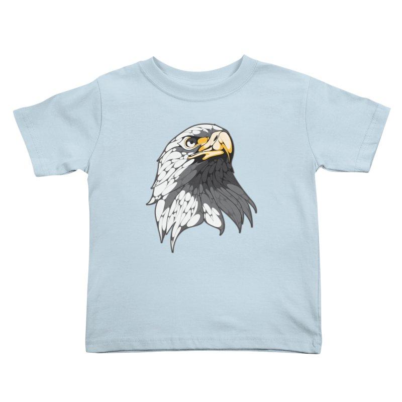 Eagle Kids Toddler T-Shirt by KUI1981
