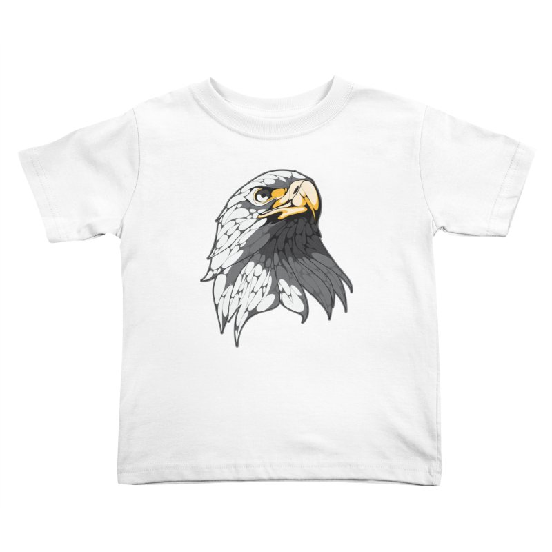 Eagle Kids Toddler T-Shirt by KUI1981