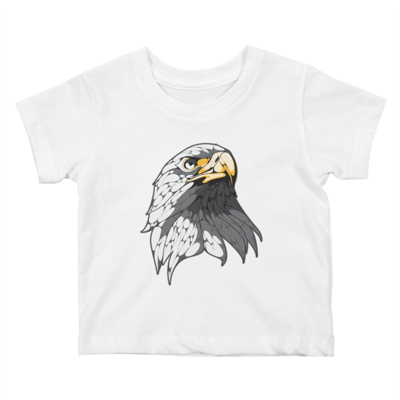 Eagle Kids Baby T-Shirt by KUI1981