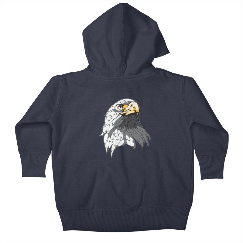 Eagle Kids Baby Zip-Up Hoody by KUI1981