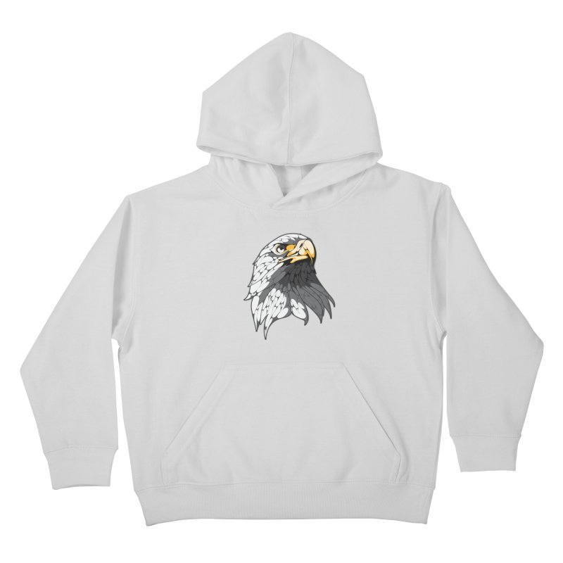 Eagle Kids Pullover Hoody by KUI1981