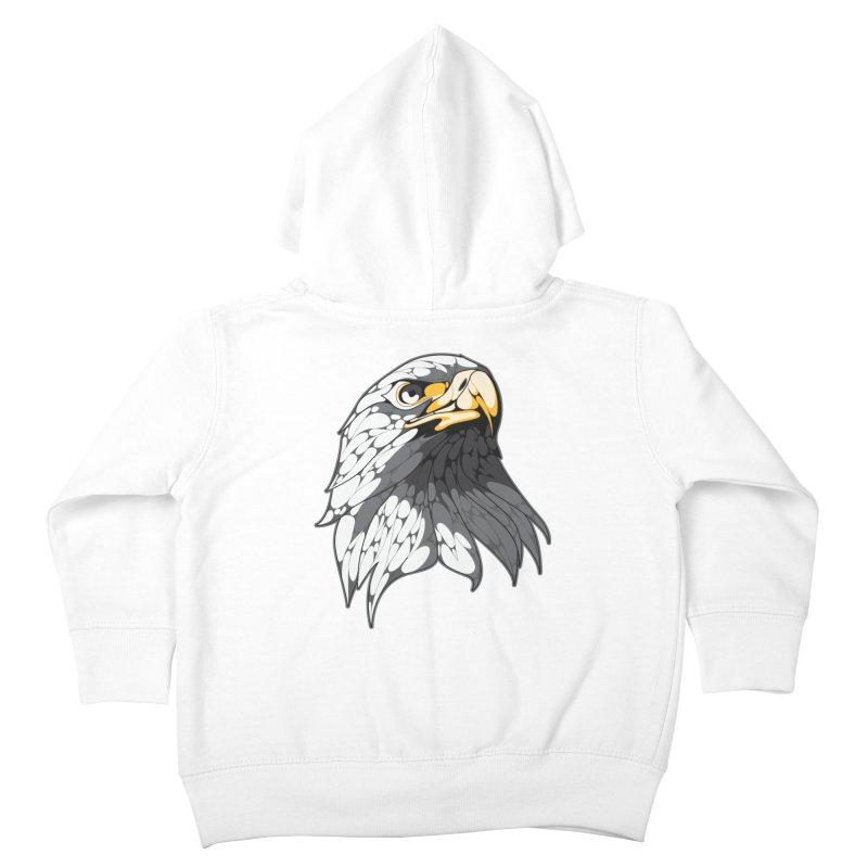 Eagle Kids Toddler Zip-Up Hoody by KUI1981