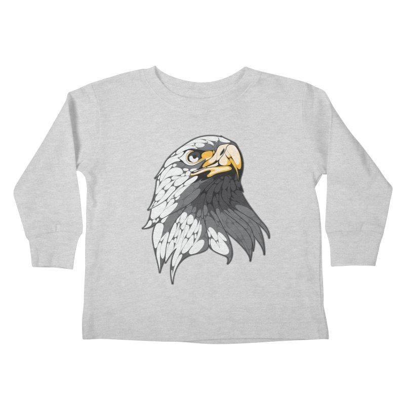 Eagle Kids Toddler Longsleeve T-Shirt by KUI1981