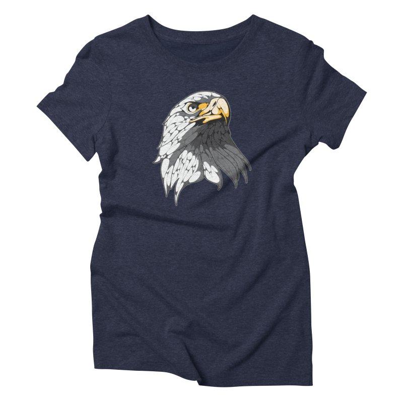 Eagle Women's T-Shirt by KUI1981