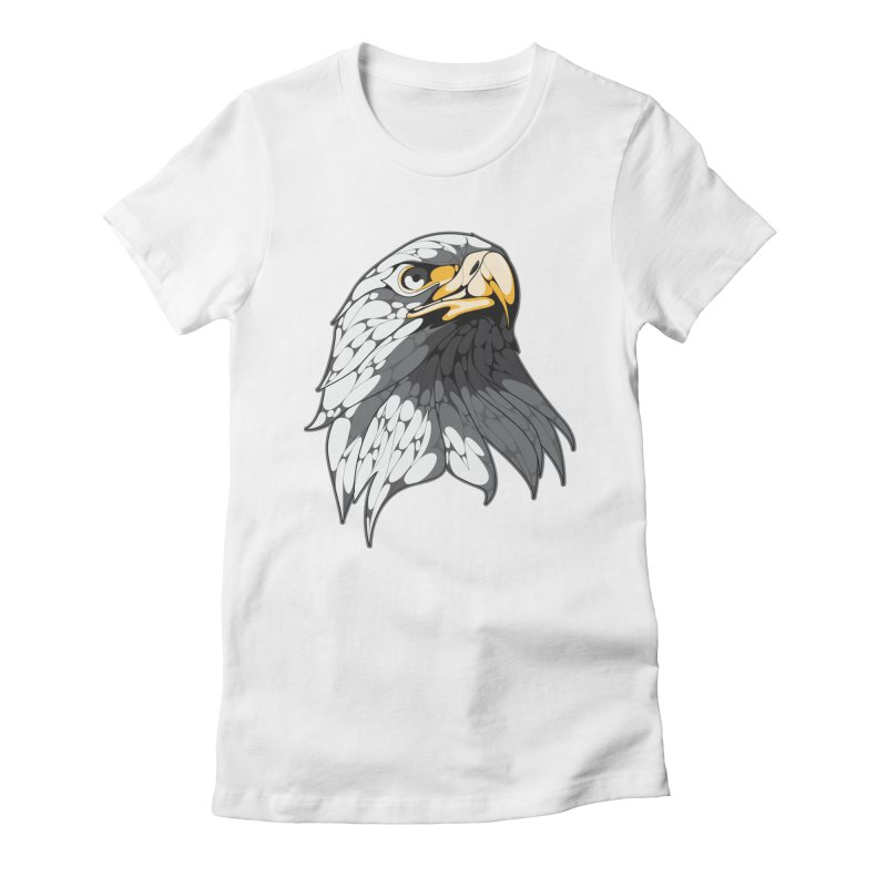 Eagle Women's Fitted T-Shirt by KUI1981