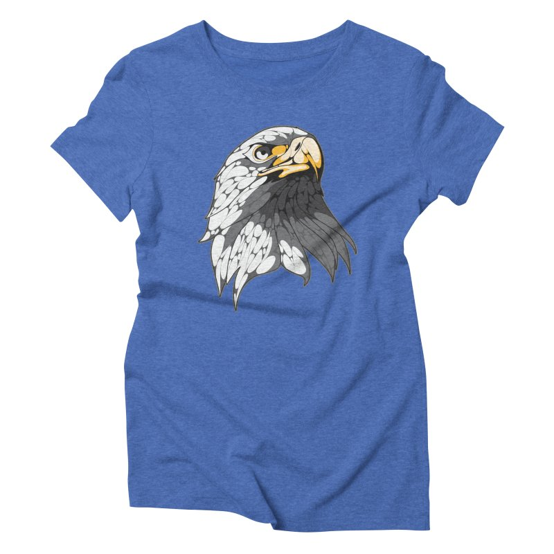 Eagle Women's Triblend T-Shirt by KUI1981