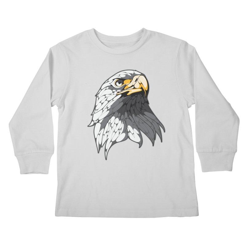Eagle Kids Longsleeve T-Shirt by KUI1981