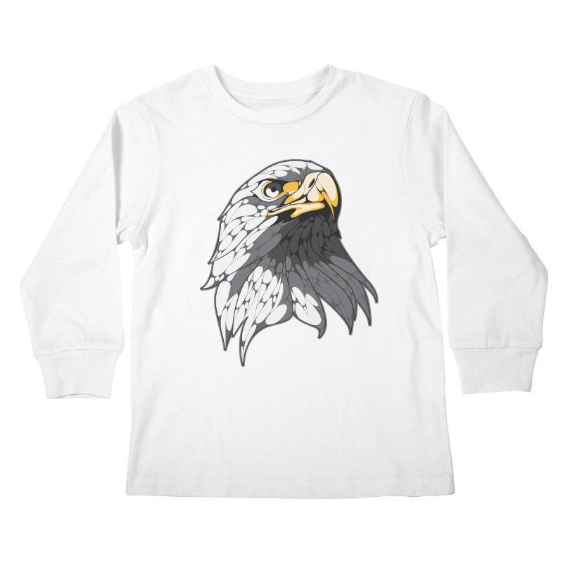 Eagle Kids Longsleeve T-Shirt by KUI1981