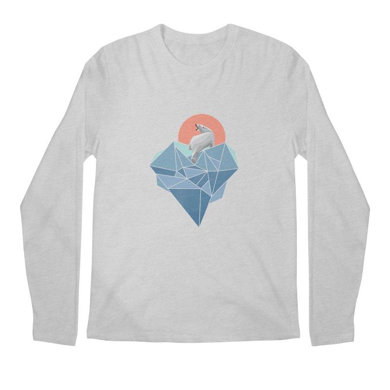 polarbear Men's Longsleeve T-Shirt by KUI1981