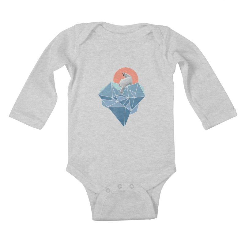 polarbear Kids Baby Longsleeve Bodysuit by KUI1981