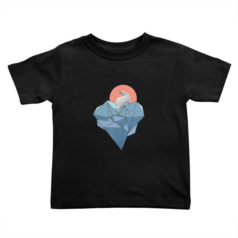 polarbear Kids Toddler T-Shirt by KUI1981
