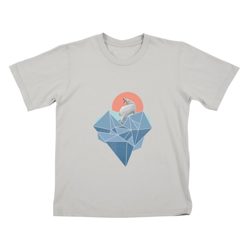 polarbear Kids T-Shirt by KUI1981