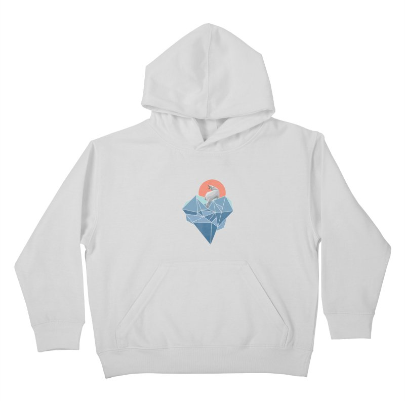 polarbear Kids Pullover Hoody by KUI1981