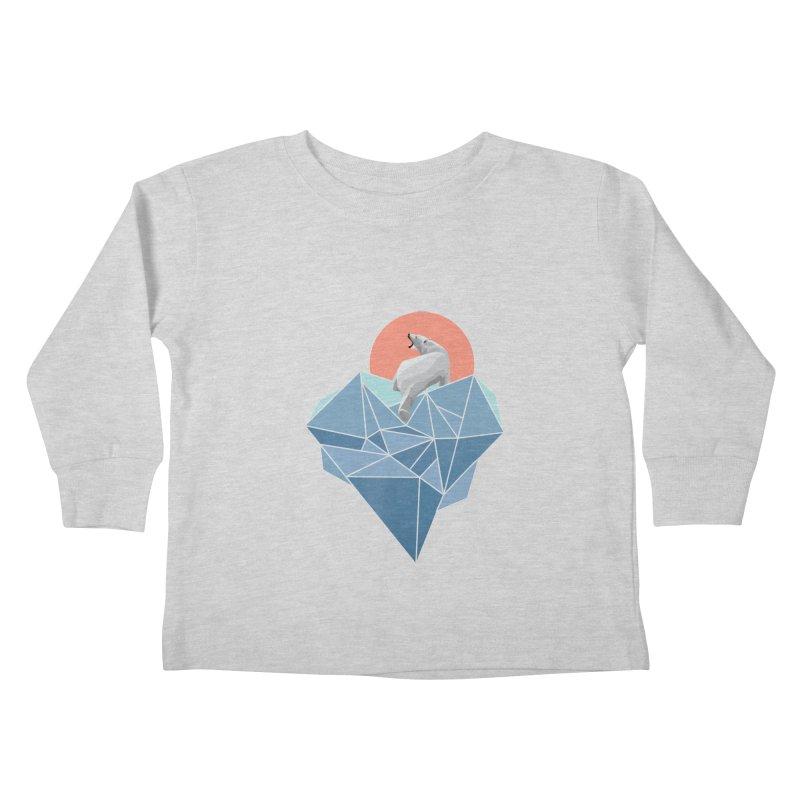 polarbear Kids Toddler Longsleeve T-Shirt by KUI1981