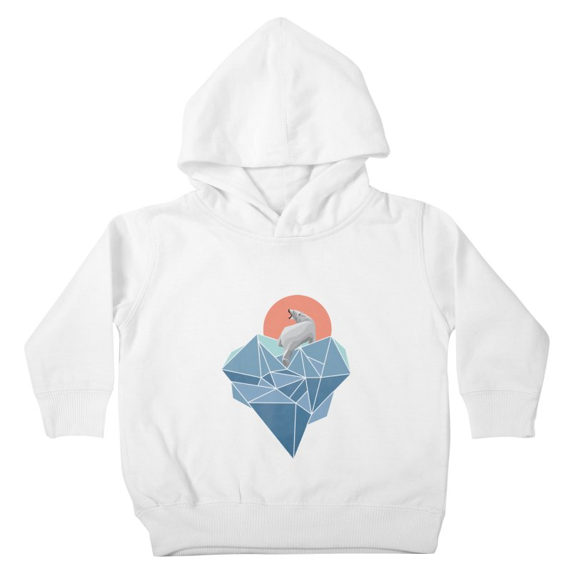 polarbear Kids Toddler Pullover Hoody by KUI1981