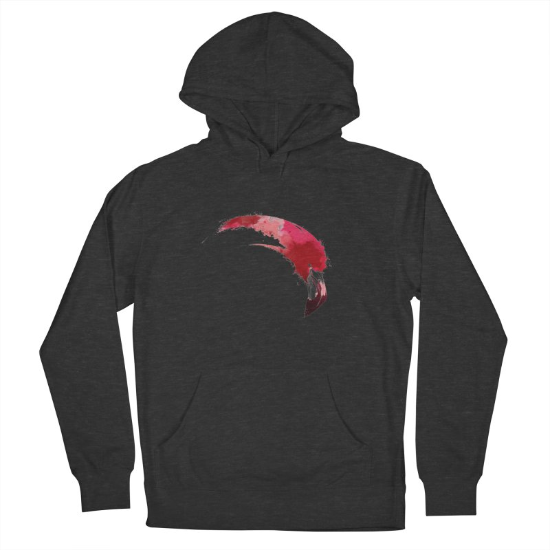 FLAMINGO Women's Pullover Hoody by KUI1981