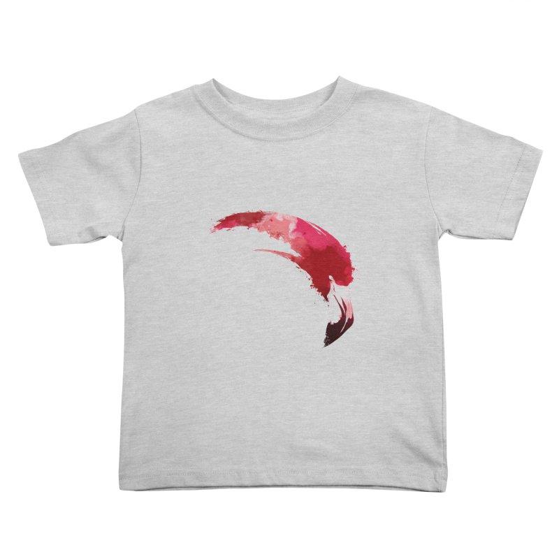 FLAMINGO Kids Toddler T-Shirt by KUI1981