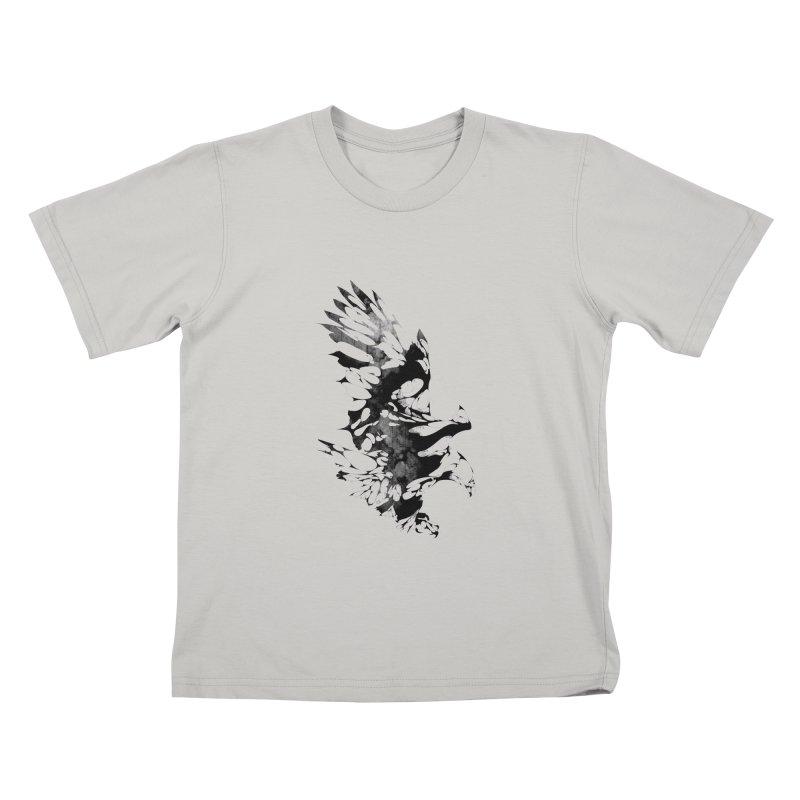 TAKEOFF Kids T-Shirt by KUI1981