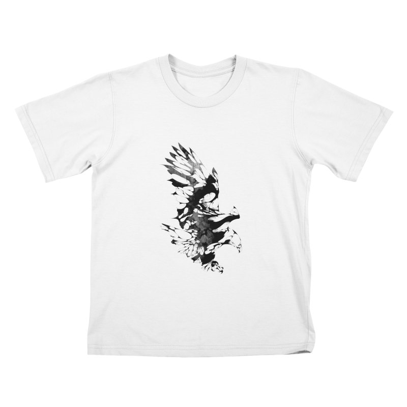 TAKEOFF Kids T-shirt by KUI1981