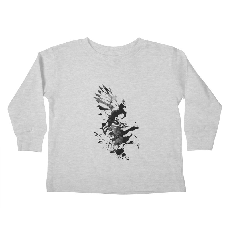 TAKEOFF Kids Toddler Longsleeve T-Shirt by KUI1981