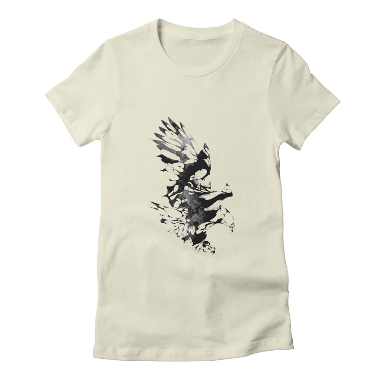 TAKEOFF Women's Fitted T-Shirt by KUI1981