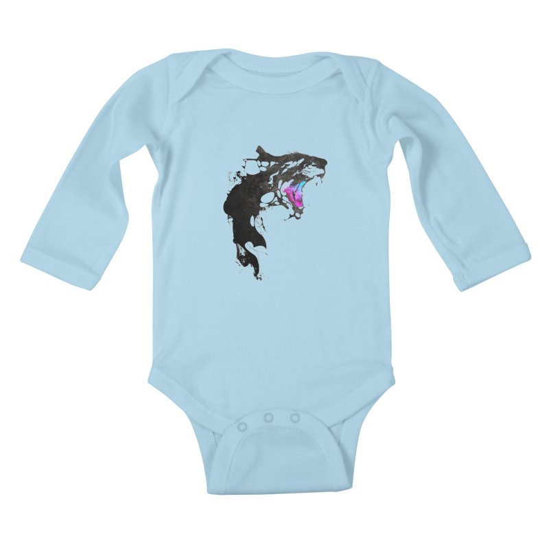 Monster Kids Baby Longsleeve Bodysuit by KUI1981