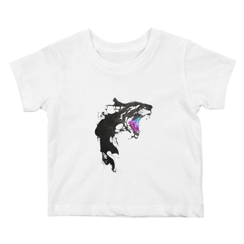 Monster Kids Baby T-Shirt by KUI1981