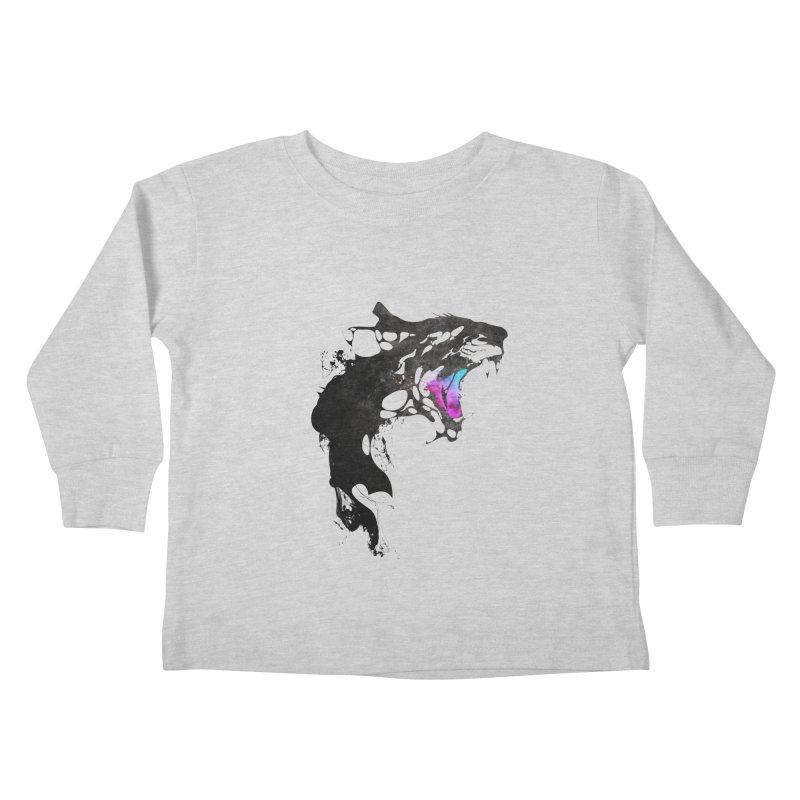 Monster Kids Toddler Longsleeve T-Shirt by KUI1981