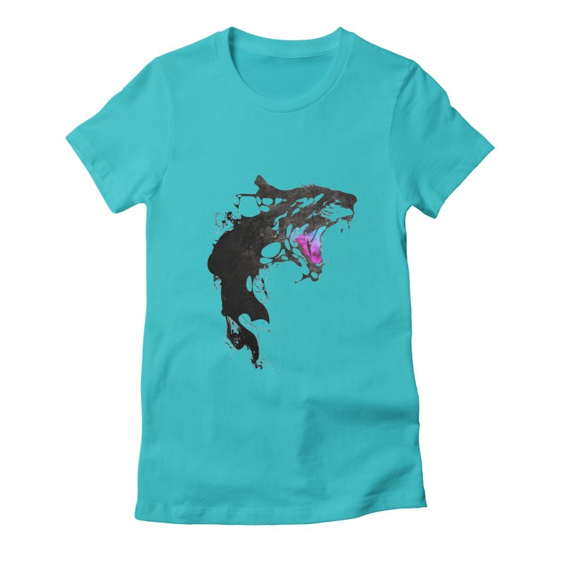 Monster Women's Fitted T-Shirt by KUI1981